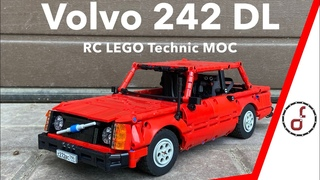Volvo 242 DL - RC LEGO Technic MOC