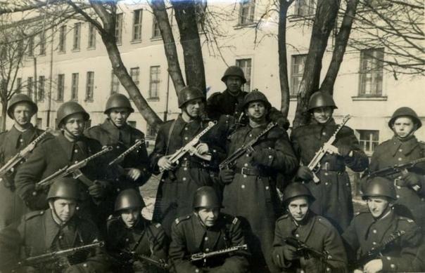 Белорусы в польской армии. 1939 г.