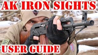 AK Iron Sights - User Guide to AK 47 (AKM) and AK 74 Iron Sights