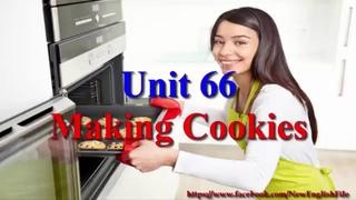 Learn English via Listening Level 2 Unit 66 Making Cookies