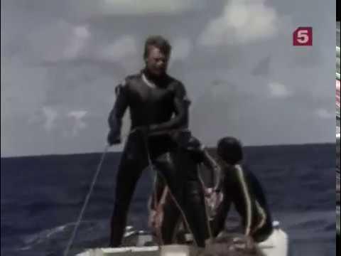 Жак Ив Кусто Сокровища морей 1969 Подводная одиссея команды Кусто