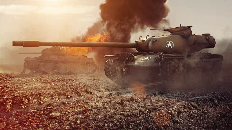 T110E5 BRAVEHEART World of Tanks 720p
