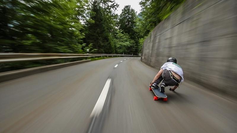 Raw Run 70 mph in Switzerland