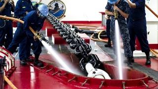 Обзор быта на кораблях Америки. U.S. Navy Nuclear Powered Supercarrier • USS Carl Vinson (CVN-70) Conducts Flight Operations