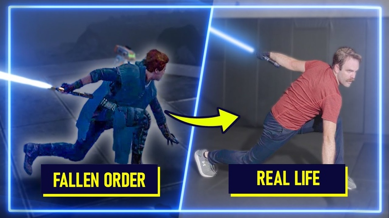 Sword Experts RECREATE moves from Star Wars Jedi Fallen Order Experts Try