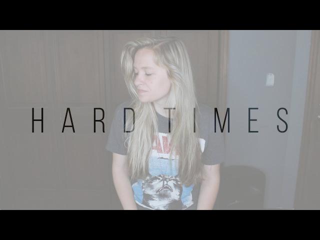 Haley Klinkhammer Hard Times Paramore cover