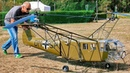 GIGANTIC XXXL RC FOCKE ACHGELIS FA 223 DRAGON SCALE MODEL COAXIAL HELICOPTER FLIGHT TEST DEMO