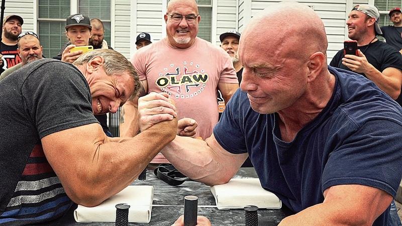 Ron Bath VS Toddzilla Arm Wrestling in MD 2020