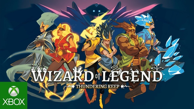Humble Bundle Presents: Wizard of Legend - Thundering Keep Update Trailer