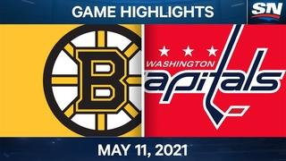 NHL Game Highlights   Bruins vs. Capitals - May 11, 2021