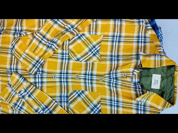 G-145. Рубашки фланелевые LX. 20091803. 17,9кг. 48ед