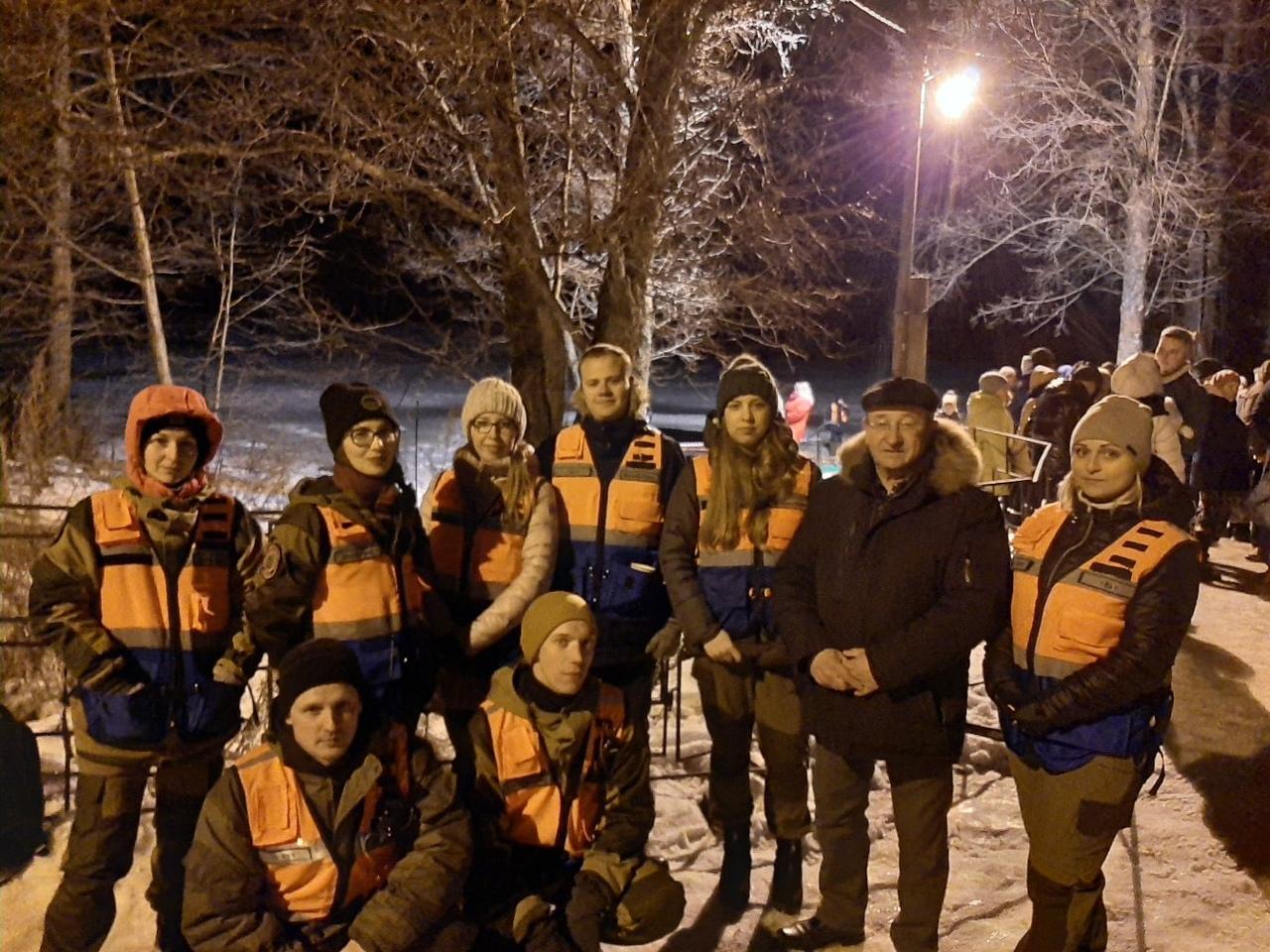 """Поисково-спасательная группа """"Рысь-Арзамас """" провела совместное дежурство со службами ЕДДС , МЧС и полицией"""
