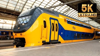 [5K] Ik neem je mee in deze treincabine: Amsterdam - Enkhuizen CABVIEW HOLLAND VIRM 28jun 2021