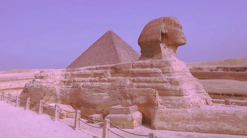 Впечатляющий древний Египет и его величественные пирамиды