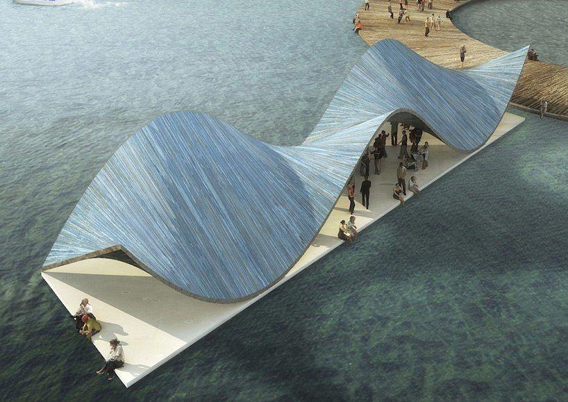 baltic sea art park by kilometrezero reconnects water, land, and city