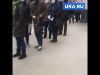 Россиянка показала аномальную очередь из-за коронавируса