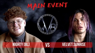 WVB: Nighty [bl] VS  (Main Event, West Voice Battle: FIRST SEASON)