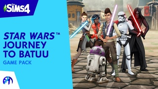 The Sims 4 Star Wars: Journey to Batuu   Official Reveal Trailer