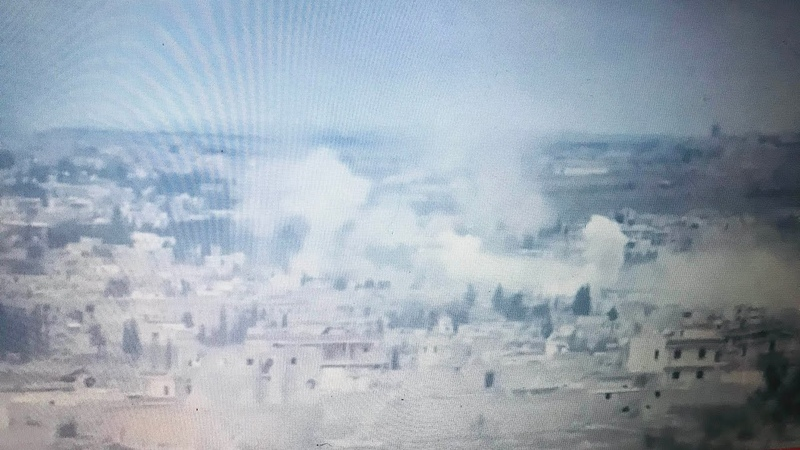 Al-Asal betrayed a falling bullet, and everyone in it was under the eyes of the Syrian armys artillery 112 2020