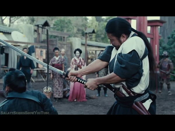 Бой самураев Мир дикого запада