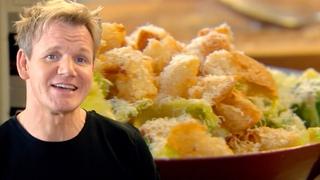 Gordon Ramsay's Ultimate Caesar Salad