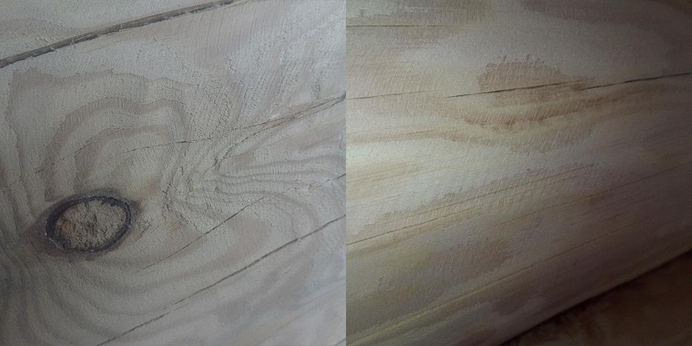 поверхность после черновой шлифовки