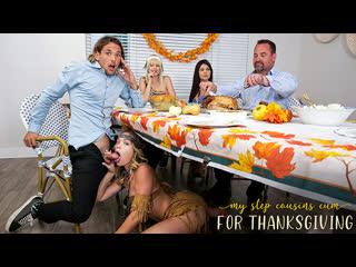 [MyFamilyPies] Jessie Saint, Katie Kush - My Step Cousins Cum For Thanksgiving NewPorn