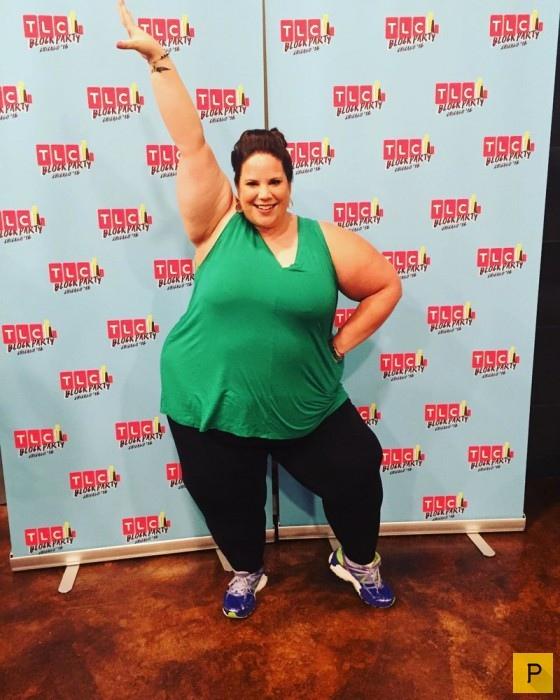 Уитни Тор - популярная танцовщица, весом 170 килограмм