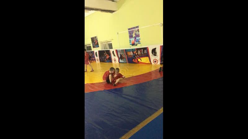 Тренировки по самбо СК Ахиллес