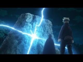 Sasuke Shows Boruto Chidori   Sasuke's Memories About his Past   English sub