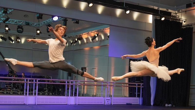 The Royal Ballet rehearse La Bayadère World Ballet Day 2018 Takada Osipova Muntagirov