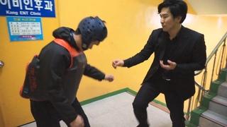 Master Jeong's Taekwondo (Episode 2) 태권도청지회중동도장 跆拳道 淸志會 中洞道場  (Taekwondo self defense)