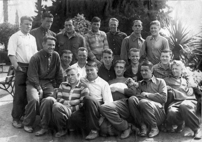 "Весна 1936 года. ""Спартак"" на сборе в Сухуми"