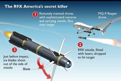 AGM-114 Hellfire 9X. Управляемая ракета для убийств, а не для войны. Единственная в своём роде