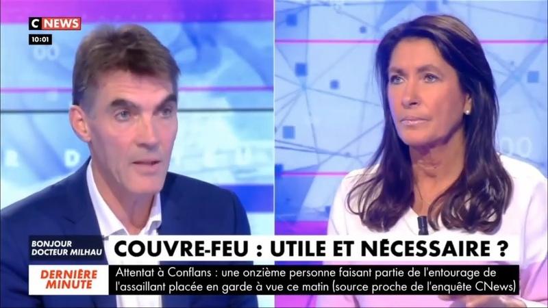 Le Pr Toussaint pourfend le couvre feu imposé par Macron et instruit au passage Brigitte Milhau