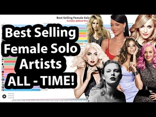 Best Selling Female Solo Artists Of ALL-TIME   1962-2021