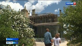 Как проходит реставрация Воронцовского дворца