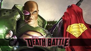 Lex Luthor armors up for a Death Battle!