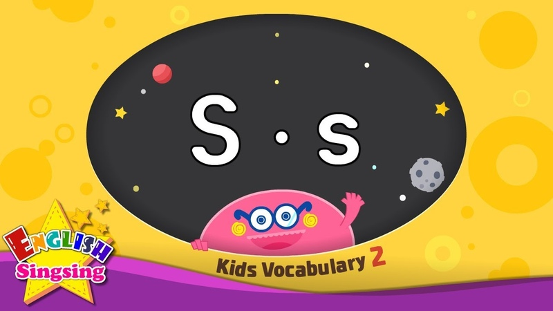 Kids vocabulary compilation ver 2 Words starting with S s Learn English for kids