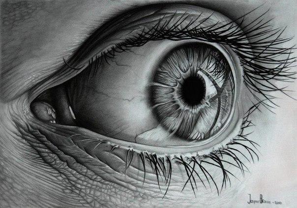 drawings of eyes - 728×625