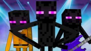 ЭНДЕРМЕН - Майнкрафт Песня | Enderman Minecraft Song Animation Parody RUS 13+