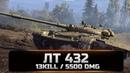 General_Panfilov WOT лт 432 13 kill, 5.5k dmg
