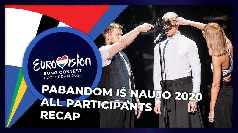 Pabandom iš Naujo 2020 Lithuania All Participants RECAP