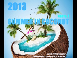 Dj Михаил Goda feat Johnny Elle - Summer in Coconut 2013 vol. 1 ( Dance Club Mix )