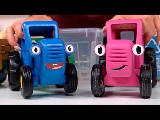 Сортируем мусор и заботимся об экологии - Поиграем в Синий трактор