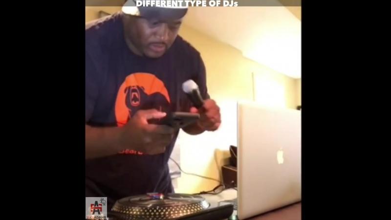 DIFFERENT TYPE OF DJs