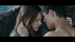 Белла целует Джейкоба. \ Сумерки. Сага. Затмение The Twilight Saga: Eclipse