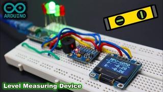 Arduino MPU6050 Digital Spirit Level Measuring Device