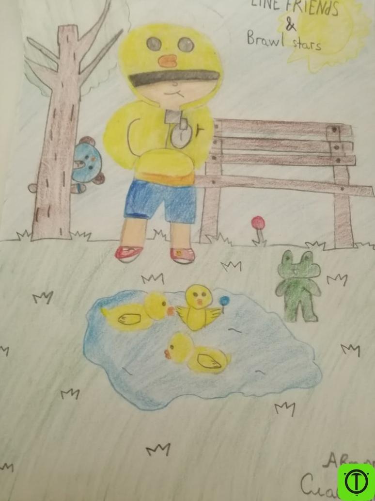 #Арт Оценку плз, от 1 до 10 Рисовал