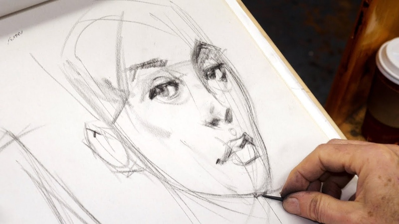 How to Use YOUR Pencil for Dynamic Life Drawing - Tim Gula Part 2